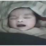 Suriye'de Yeni Doğan Bebek Allah Diye Konuşuyor! (Video)