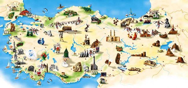 türkiyenin illeri, türkiyenin şehirleri, şehirlerin isimleri nereden gelmiştir, illerin isimleri nereden gelmiştir